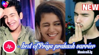 Priya prakash musical.ly part-2|Priya prakash varrier|best musical.ly videos
