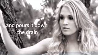 Carrie Underwood Wasted Lyrics