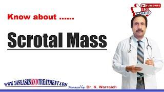 Scrotal Mass : Causes, Diagnosis, Symptoms, Treatment, Prognosis