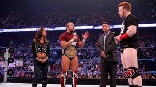 SmackDown: Michael Cole interviews Daniel Bryan and Sheamus