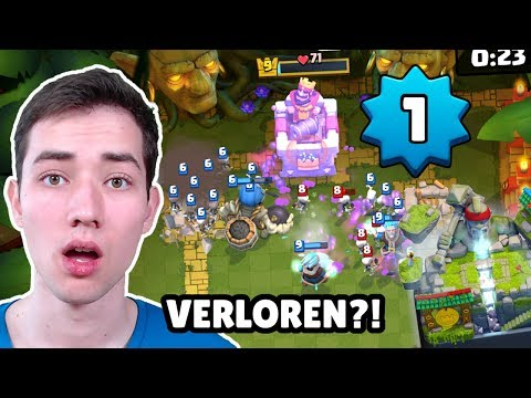 Dümmste NIEDERLAGE! 🤦♂️ 3000 TROPHÄEN? | Level 1 Speedrun Duell | Clash Royale Deutsch