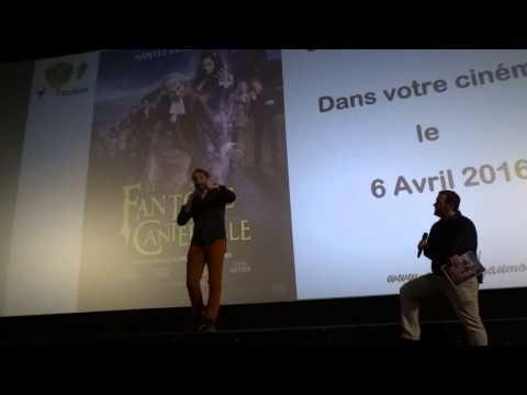 Avant-première Le Fantôme de Canterville, avec Michaël Youn