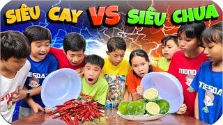 Tony | Đồ Ăn Siêu Cay VS Siêu Chua - Spicy Food VS Sour Food