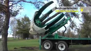 Машина для пересаживания больших деревьев