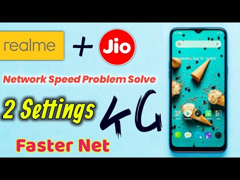 Realme Mobile Network Problem With Jio Sim Solution How To Increase Internet Speed In Jio Sim Youtube