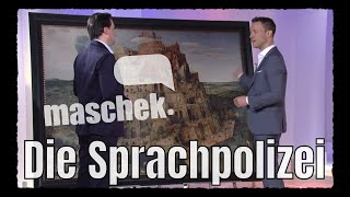 Maschek WÖ_424 Die Sprachpolizei