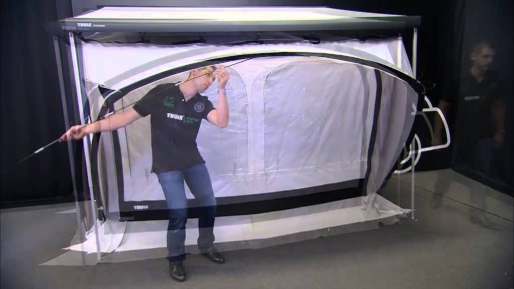 Rv Awning Tents Thule Quickfit Installation Youtube