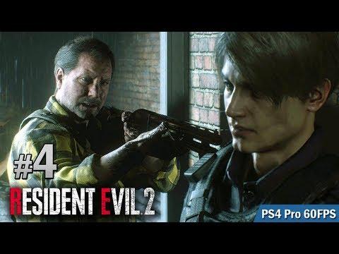 #4 逃離警署 | Biohazard RE:2  (Resident Evil 2 remake) PS4 Pro 60 FPS