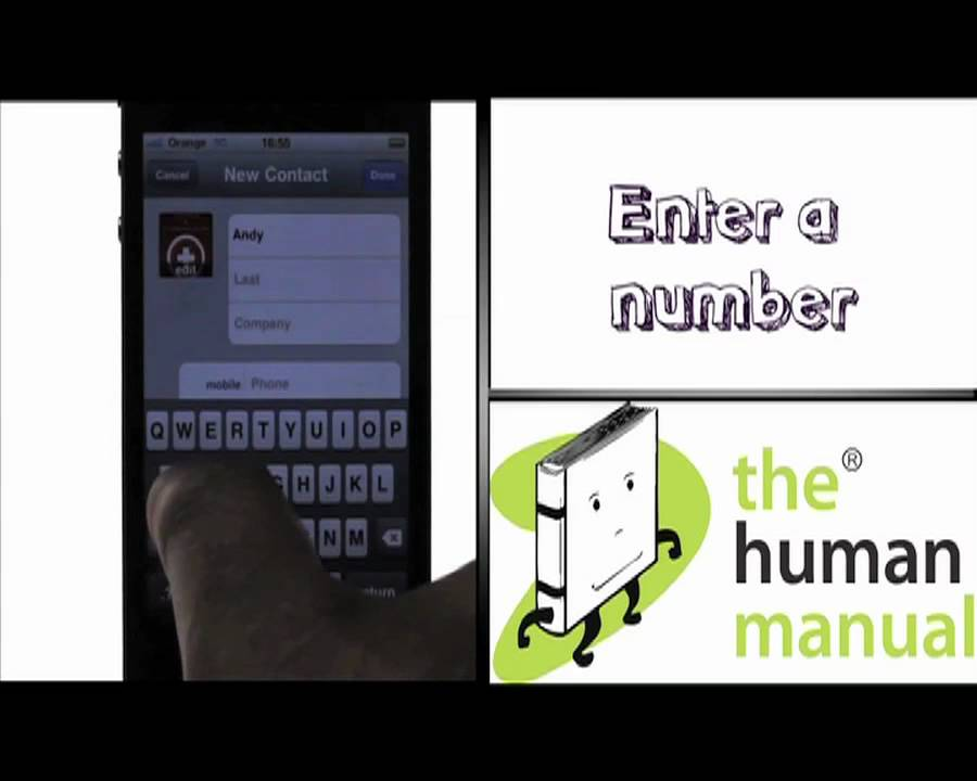 iphone 4 manual adding a new contact apple iphone 4 the human manual 10867