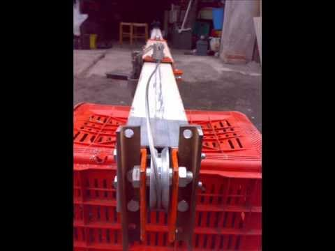 Radio crank steel Amateur masts HD up