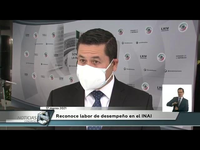 La entrevista en el Canal del Congreso de los Estados Unidos Mexicanos.