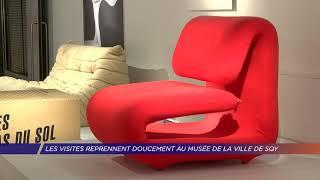 Les visites reprennent doucement au musée de la ville de Saint-Quentin-en-Yvelines