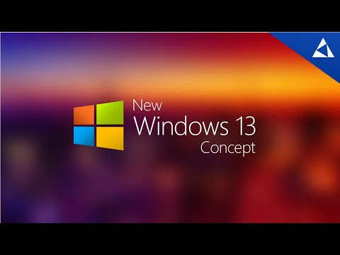 New Windows 13 Concept