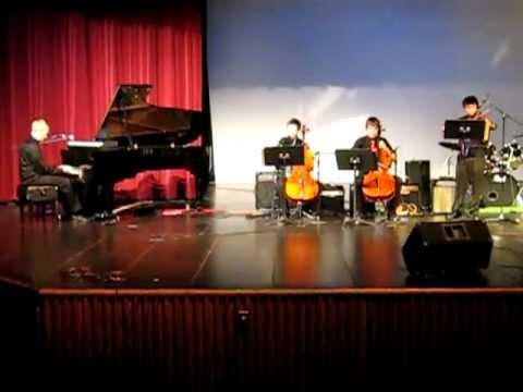 21 guns  Green Day Violin Cello and Piano