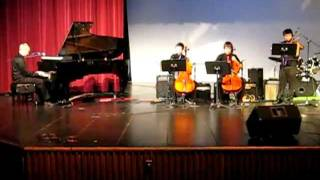 21 guns by Green Day Violin Cello and Piano Cover