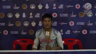 Thailand Youth League Interview : สัมภาษณ์นักเตะน่าจับตามองประจำทัวร์นาเมนต์ รุ่นอายุไม่เกิน 19 ปี