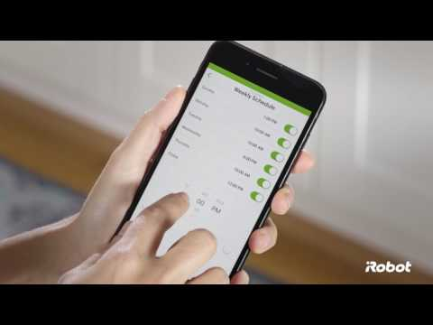 How to Set a Schedule in the iRobot HOME App | Roomba® 600 Series Robot Vacuums