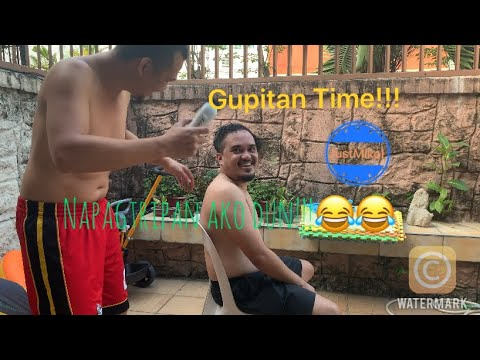 Gupitan Session With Housemate | Napagtripan Ako Dito | Dahil Sarado Ang Mga Barber Shop Ngaun