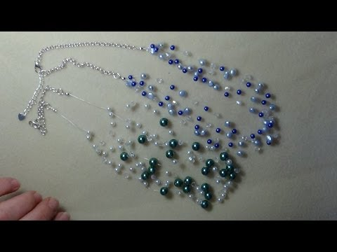 (Tutorial) Invisible Pearl Necklace (Video 25)