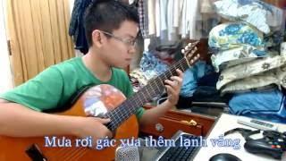 Lạnh Trọn Đêm Mưa - Sáng tác : Huỳnh Anh - [Bolero - Guitar Instrumental]