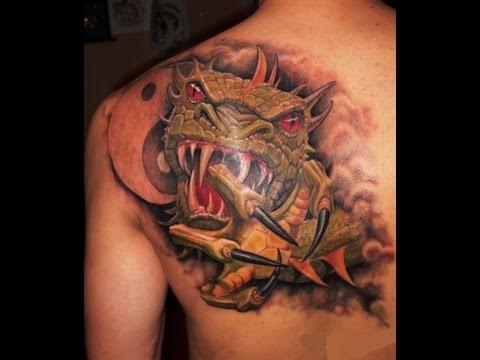Лучшие татуировки драконов