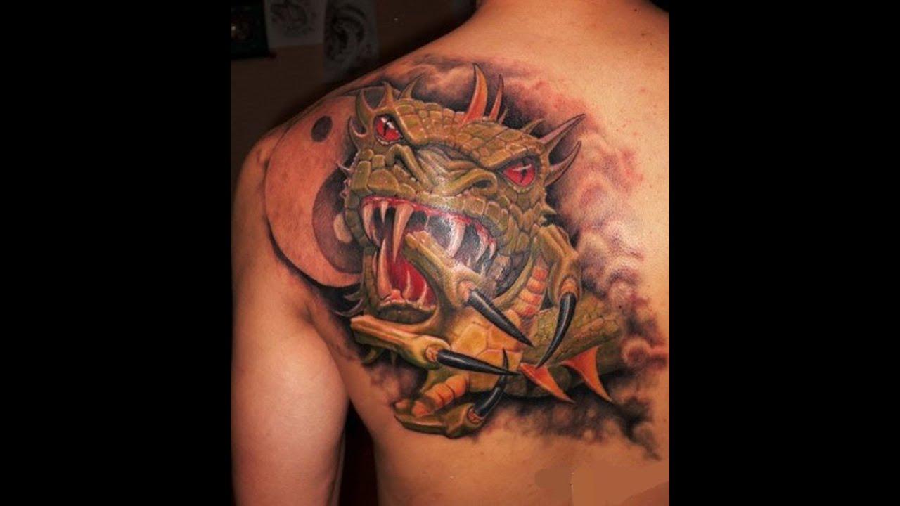 татуировка в виде дракона история и современность философия