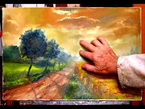 COME DIPINGERE CON LE DITA  fingerpaint di Mario Stefanutti  YouTube