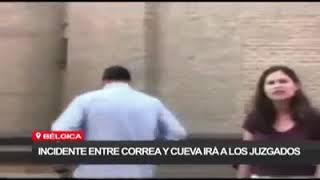 Ramiro Cueva y Rafael Correa