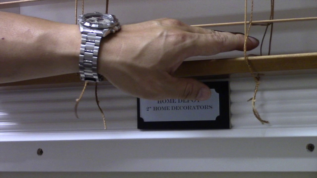 Blind Shortening Home Decorators Collection Youtube