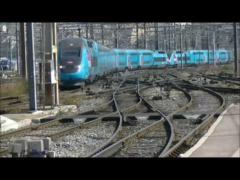Train à Marseille St Charles Le 13 Avril 2019