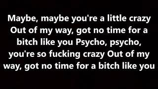 saliva - bitch like you (lyrics)