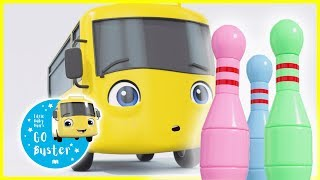 Buster Plays Skittles   GoBuster Official   Nursery Rhymes   Videos for Kids   Single Episode