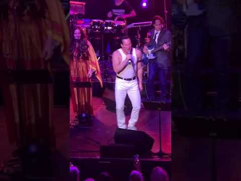 Patrick Wilson channels Freddie Mercury