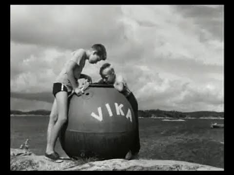 Sommerparadiset, 1954