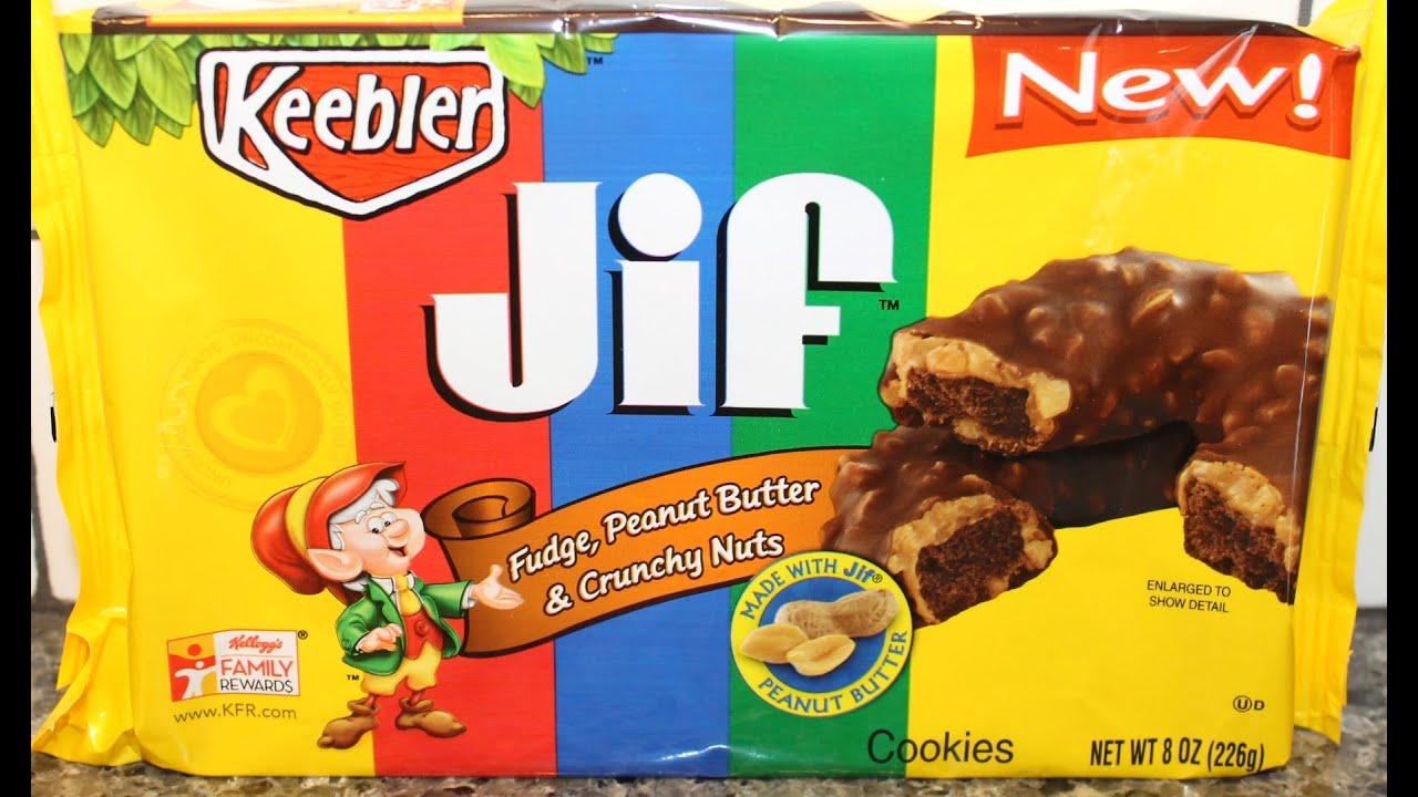 kellogg s keebler jif fudge peanut butter amp crunchy nuts