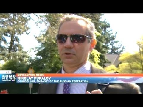 Authorities Search Russian Embassy Residence In Seattle!