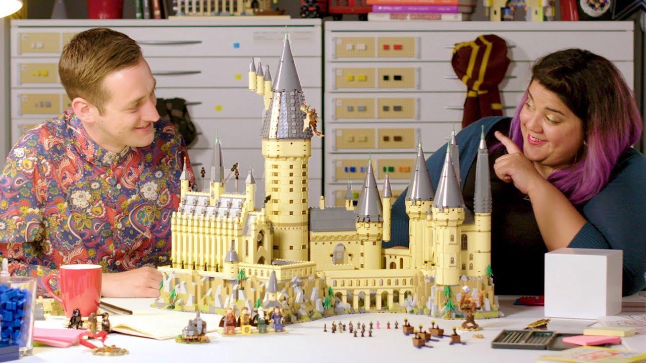 Lego Harry Potter Hogwarts Castle Lego Designer Video Review 71043 Youtube