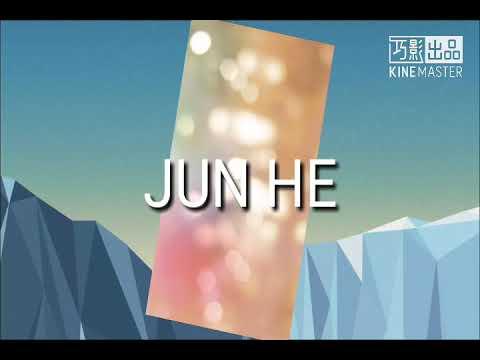 JUN HE超废系列~第一次用巧影。。/if jun he use qiao yin....