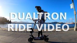 Riding Phantom, a Custom Dualtron 3 - Electric Scooter Music Video