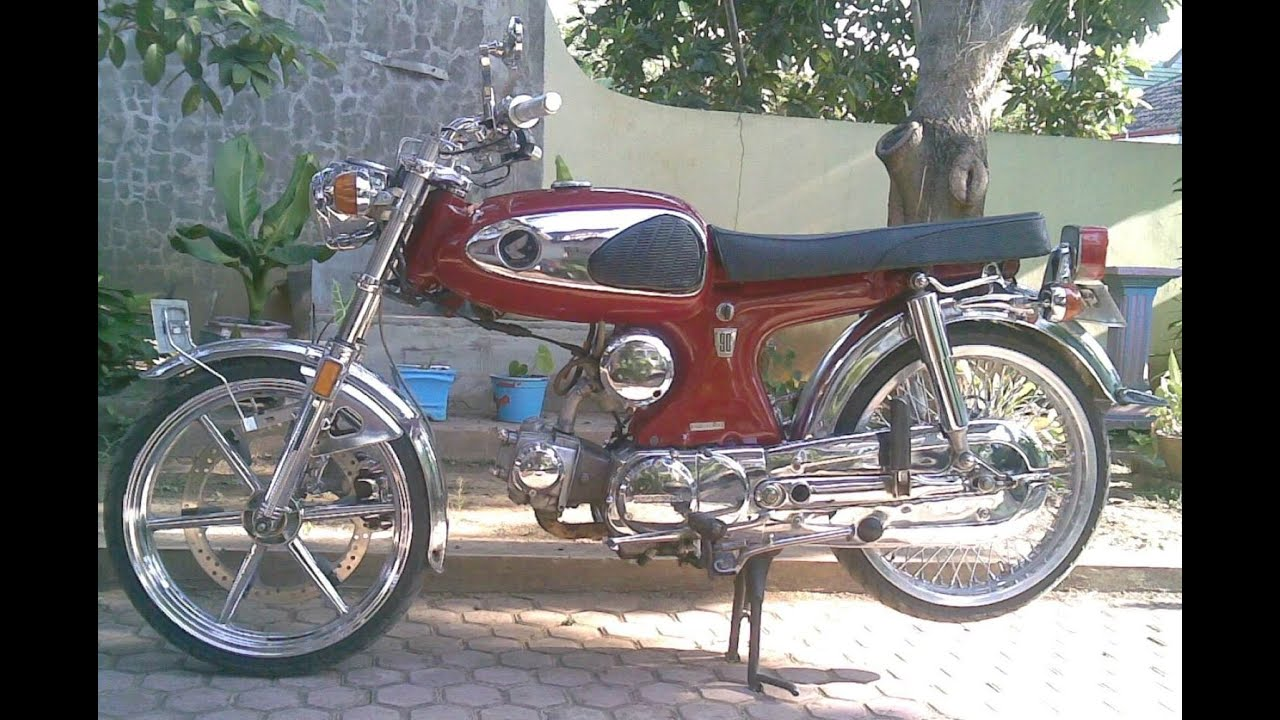 82 Gambar Modifikasi Motor Astra 90 Terunik Kempoul Motor