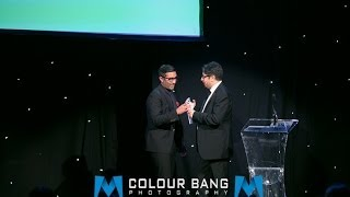 Nihal on Stage - Radio Presenter of the Year 2013