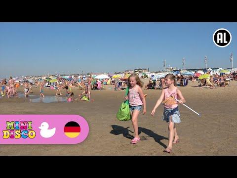 Sommer | Deutsche Kinderlieder | AM STRAND | Kindergarten Songs | Minidisco