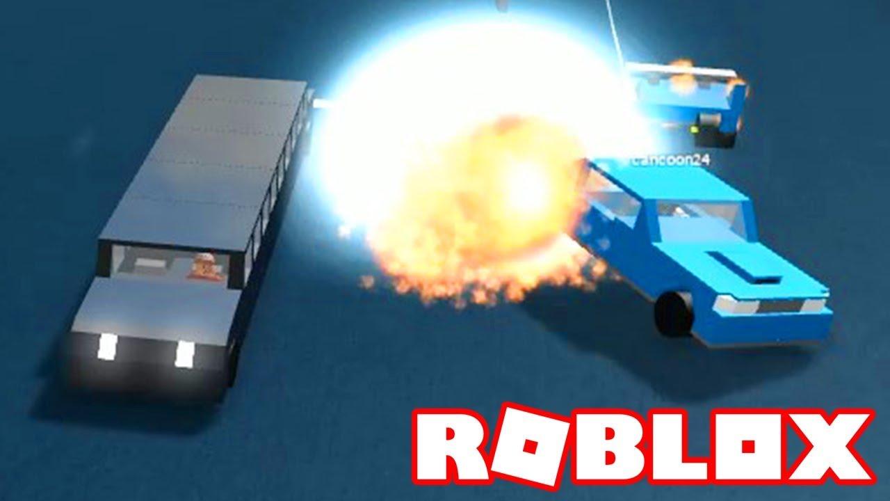 Roblox → SIMULADOR DE DESTRUIÇÃO DE CARROS !!