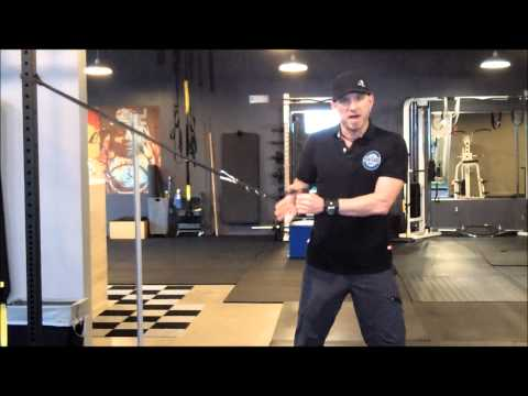 Golf Rotational Exercises – Wood Chop Variations