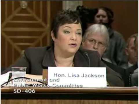 "Barrasso Asks Lisa Jackson About ""Smoking Gun"" OMB..."