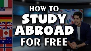 Top 10 MBA - How to Study Abroad for Free : Best Countries for Indian Students