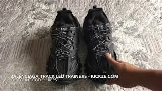 Balenciaga Track LED Trainer (Unboxing+On Feet) from kickze.com