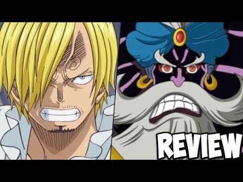 One Piece 876 ワンピース Manga Chapter Review: Sanji to Make Delicious Cake for Yonko Big Mom!!