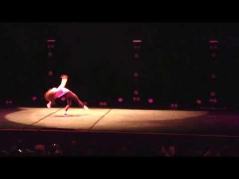 Jordan Clark dance to 'hello' - the next step wild rhythm tour Birmingham 2016