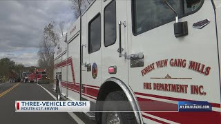 One person life-flighted after accident on Route 417